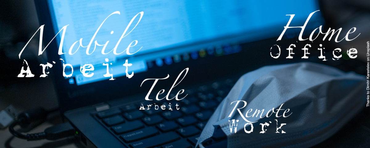home office telearbeit mobile arbeit remote work